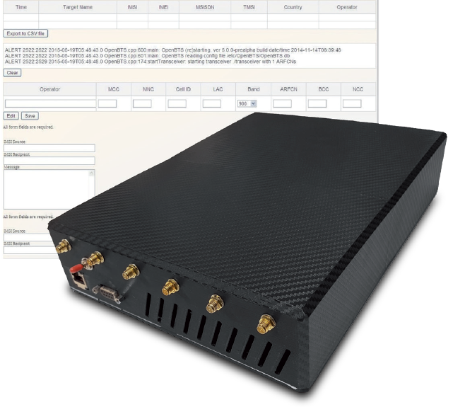 СYBERIC IMSI CATCHER - Tactical cybernetic systems